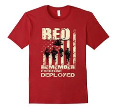 R.E.D Friday Shirts RED Remember Everyone Deployed RED Friday - Red Friday Military - Remember Red Friday - Red Friday Quotes - Red Friday  Shirt