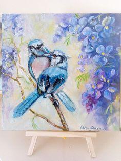Birds Painting   Animal painting on canvas  Artwork Animalism