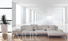 Przestrzenny-korytarz-optycznie-powiekszajace-fototapety-demur