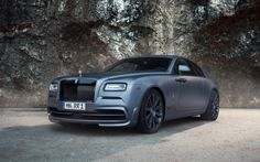 The Rolls-Royce Wraith is already one of the most exclusive coupes in the world when it leaves the factory. SPOFEC refines the English luxury motor car even . Sports Car Rental, Luxury Car Rental, Luxury Cars, Audi, Bmw, Rr Wraith, Derby, Rolls Royce Dawn, Cars