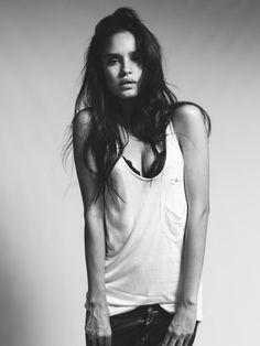 life of a heartbroken..., blissfully-chic: Model: Hilda Dias Pimentel