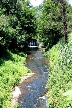 Cascate del Rio Fratta a Corchiano