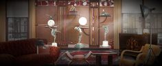 '#daily task - Art Deco - i love to display sculpture!' created in #neybers