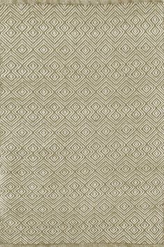 Test drive this rug in your space.Order a swatch by adding it to your cart.This clever take on a classic diamond pattern—in a durable, washable indoor/outdoor jacquard weave made of recycled materials—is an instant style star. Due to the handmade nature, variations in color are expected.Made of 100% PET, a polyester fiber made from recycled plastic bottles.