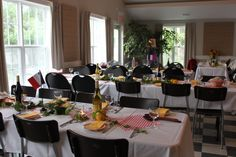 Art Centre Dinner Nova Scotia, Chester, Conference Room, Table Settings, Dinner, Furniture, Home Decor, Art, Dining