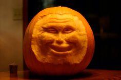 First freestyle 3D pumpkin