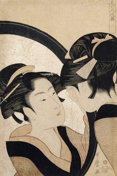 Kitagawa Utamaro(喜多川歌麿 1753ー1806)