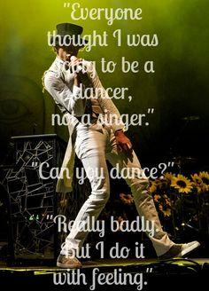 I love his dancing <3