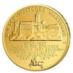 BRD 100 Euro 2011 UNESCO Weltkulturerbe - Wartburg