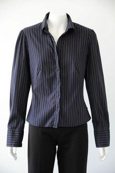 'CUE' Women's Printed Long Sleeve Shirt {Size 10}