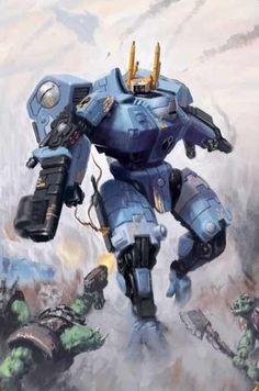 Warhammer 40K - Tau Battlesuit