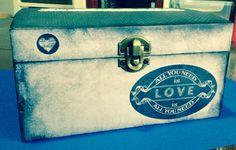 Caja de madera alterada Scrap.