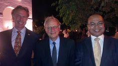 InShoring Pros op Handelsmissie in India. Edgar Kiwiet en de Nederlandse Ambassadeur in India
