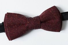 Items similar to Burgundy bow tie for men Groomsmen Outfits, Burgundy Bow Tie, Burgundy Color, Bow Tie Wedding, Wedding Men, Groomsmen Accessories, Gifts For Father, Fathers, Bows