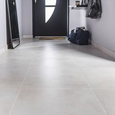 Floor and wall tiles beige concrete effect Live x cm Grey Kitchen Tiles, Grey Floor Tiles, Grey Flooring, Modern Floor Tiles, Tile Flooring, Concrete Look Tile, Concrete Floors, Living Room Flooring, Kitchen Flooring