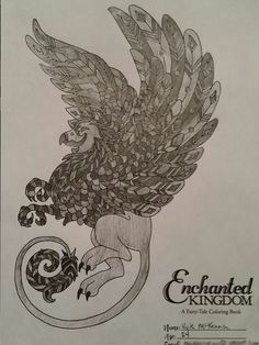 Enchanted Kingdom A Fairy Tale Coloring Book By Kimberly Kay And N Gephart