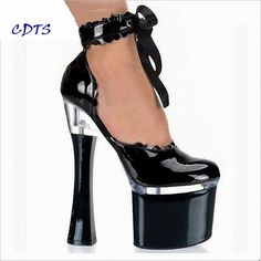 Aggressive Red Nightclub Dance Shoes Pole Dancing Shoes Model High Heels Womens Shoes Sexy 15 Cm High-heeled Sandals Office & School Supplies