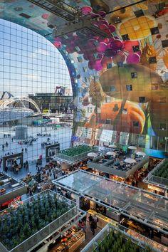 Markthal - Grotemarkt 14 - Rotterdam Architectuurprijs