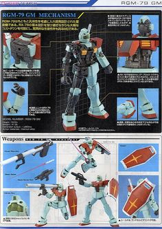 RGM-79 GM Ver.2.0 (MG) (Gundam Model Kits) Item picture4