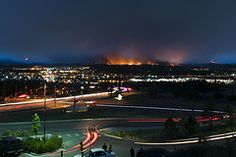 Colorado Springs, West side - Waldo Canyon Fire by Clotaire Damy
