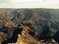 "Waimea Canyon, ""the Grand Canyon of the Pacific"" Kauai, AK"