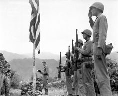 Servicemen and Women of the Korean War - my dad served stateside, but served.  Thanks, Dad.