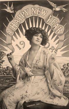 happy new year...1908