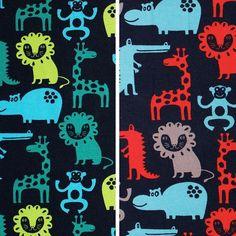 Zoo-Baumwolljersey von Aktivstoffe #Dessins #Kinderstoffe #Stoffe #Nähen #DIY #Motive #Aktivstoffe