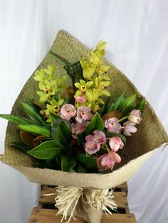 Stunning Orchids bouquet, long lasting and simply beautiful. Orchid Bouquet, Bouquets, Simply Beautiful, Beautiful Flowers, Flowers Delivered, Fresh Flowers, Gift Baskets, Orchids, Create