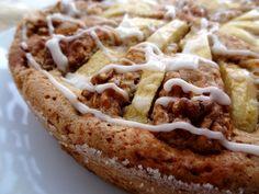 Le moelleux d'automne aux noix est un gâteau idéal pour traiter dignement les fruits d'automne : pommes et poires. Ici avec des noix, de la cannelle et de la vanille pour le parfum    ------