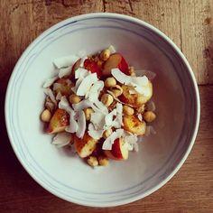 Sweet potato porridge for Vata dosha - Ekahrt Yoga video - http://www.ekhartyoga.com/video/sweet-vata-balancing-breakfast