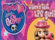 Blythe Baxter busca las chicas LPS | Juegos Littlest Pet Shop - jugar LPS online mascotas