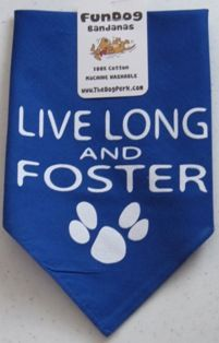Live Long and Foster Dog Bandana