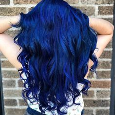 50 Blue Hair Color Ideas Thanks to the rainbow hair trend a growing number of women are dyeing their locks in fun bright hair colors Pastel pinks light vio. Bright Hair Colors, Hair Dye Colors, Hair Color Blue, Cool Hair Color, Bright Colored Hair, Crazy Hair Colour, Rainbow Hair Colors, Pink Purple Blue Hair, Different Hair Colors