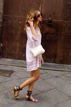 Chiara Ferragni and Isabel Marant The Carol Studded Leather Sandals Photograph