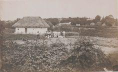 Old village of Bessarabia (Ukraine), photo Michał Greim (ur. 1828 Żelechów, zm. 1911 Kamieniec Podolski)
