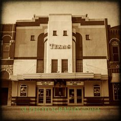 Texas Theater Photography Vintage Movie Theatre by 3LPhotography, $25.00