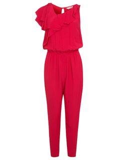 Combi-pantalon rose à volants - Combi-shorts et combi-pantalons - Vêtements
