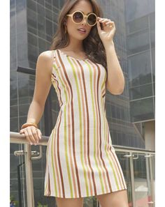 Linen Dresses, Cute Dresses, Casual Dresses, Short Dresses, Fashion Dresses, Simple Dress Casual, Simple Summer Dresses, New Look Skirts, Recycled Dress