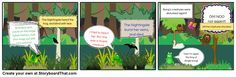 the frog and the nightingale comic creation - Google Search