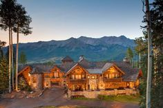 Magnificent Castlewood Manor in Telluride Colorado 2