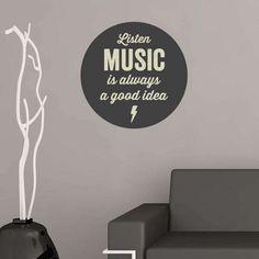 """""""Ouvir música é sempre uma boa ideia"""""""