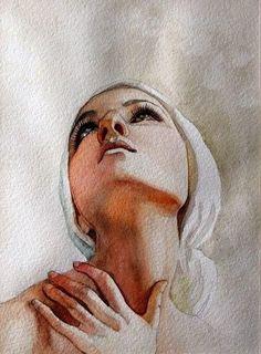 Watercolor Portrait..........