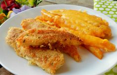 Easy 30 min meal -Crunchy Ranch Chicken Tenders with Cheese Fries Recipe
