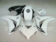 Honda CBR 1000RR 2008-2009 ABS Verkleidung - Weiß #verkleidungcbr1000rr2008 #cbr1000rrverkleidung09