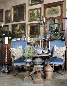 Antique Store Online ~ European Antiques ~ www.inessa.com ~ Antique French Furniture and Accessories