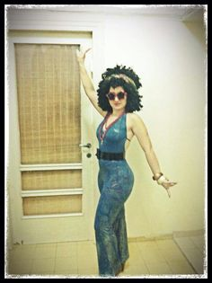 Disco costume. 70's costume- get express romper altered and get belt