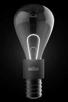 Braun light bulb concept.