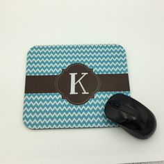 Personalized Mouse Pad | Custom Mouse Pad | Monogram Mouse Pad | Greek Letters | Office Accessory | Personalized Gift | Sorority Gift  #mousepads #SororityGift #OfficeAccessory #MongrammedMousepad #mousepad #CustomMousepad #PersonalizedMouse #MousePad #PersonalizedGift #GreekLetters