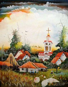 Juraj Lavroš | Serbian Naive Art info